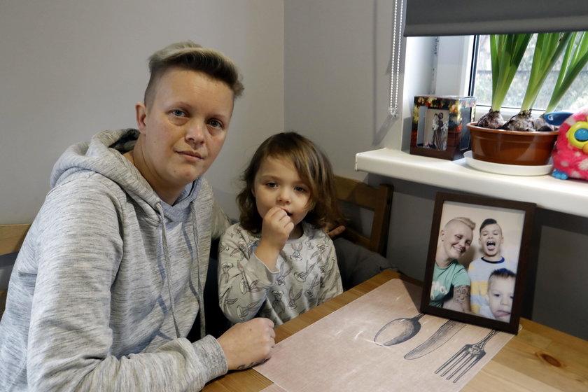 Pani Justyna z córką.