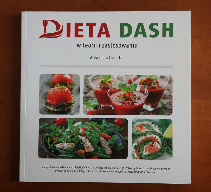 """""""Dieta DASH w teorii i zastosowaniu"""" (wydawnictwo Medyk)"""