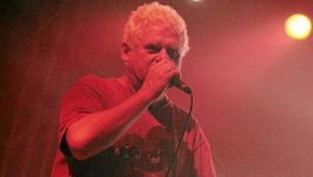 Kazik Staszewski podczas koncertu zespołu Kult