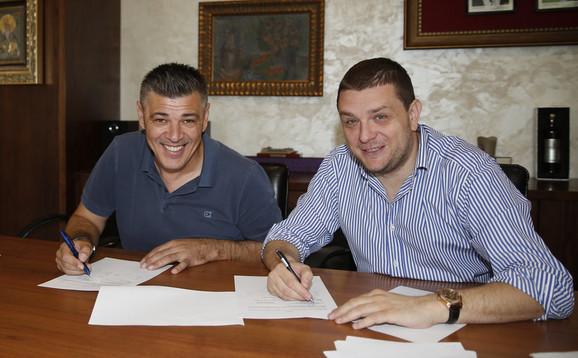 Savo Milošević potpisao je za Partizan u martu, a prvi trofej osvojio je već u maju, kada je uzeo Kup Srbije