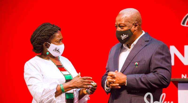 Mahama promises to grow Ghana's economy to work for Ghanaians