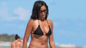 Miss Nastolatek 1990 w bikini. Claudia Jordan wciąż potrafi zachwycić