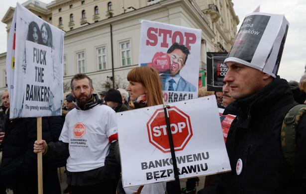 """Manifestacja """"Stop Bankokracji"""""""