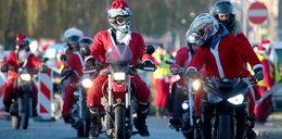 Mikołaje na motocyklach opanowały Trójmiasto!