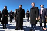 Kim Džong Un i Mun Džae In posetili planinu Paektu