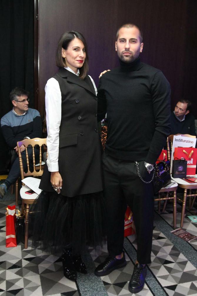 Marko  i Marija Đurovski na reviji