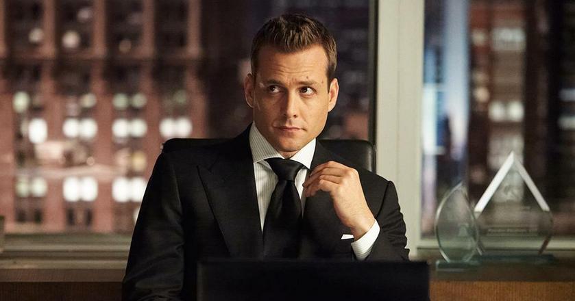 """Kadr z serialu """"Suits"""" produkcji USA Network"""