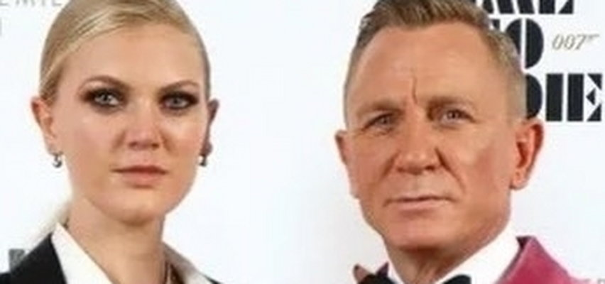 """Daniel Craig na premierę """"Nie czas umierać"""" przyszedł z córką. Kim jest Ella Loudon?"""