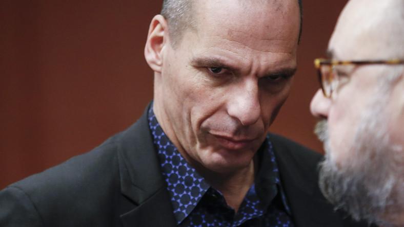 Janis Warufakis, minister finansów Grecji