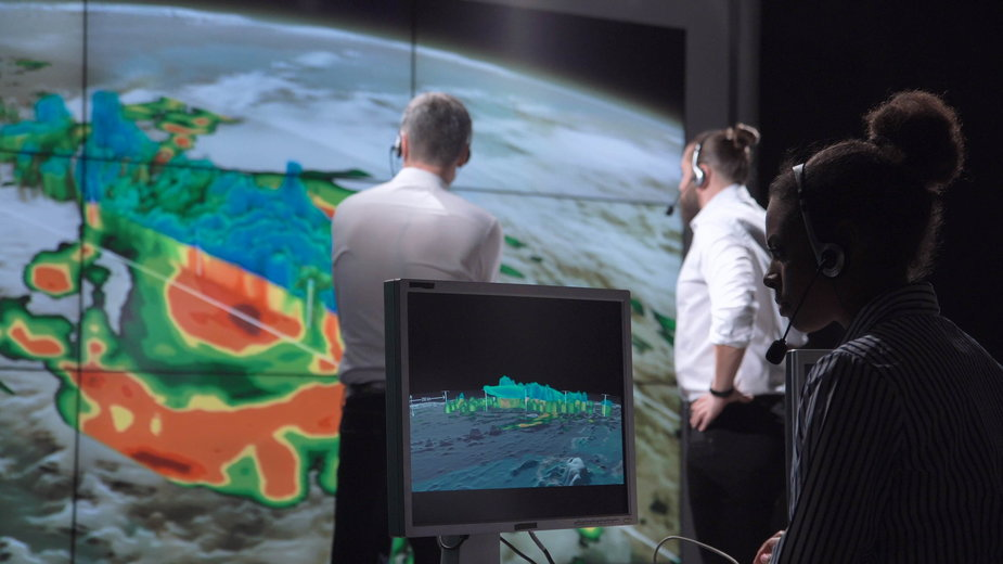 Zadanie synoptyków utrudnia liczba czynników wpływających na pogodę oraz ich wzajemne zależności