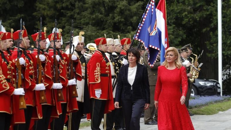 Prezydent Chorwacji podejmuje dziś w Zagrzebiu prezydent Szwajcarii...