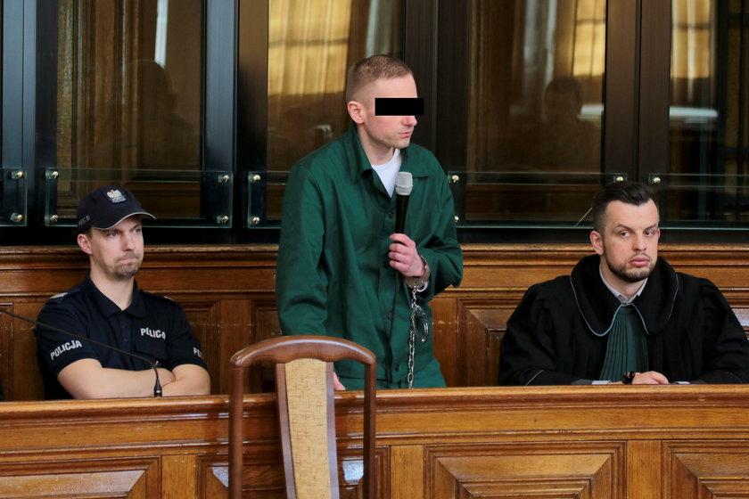Marcin P. przed sądem