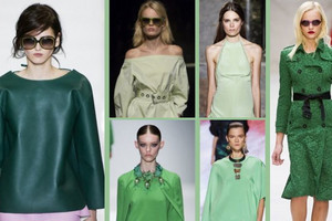 b528c5f883 Kolor nadziei w modzie - zieleń na sezon wiosna lato 2013