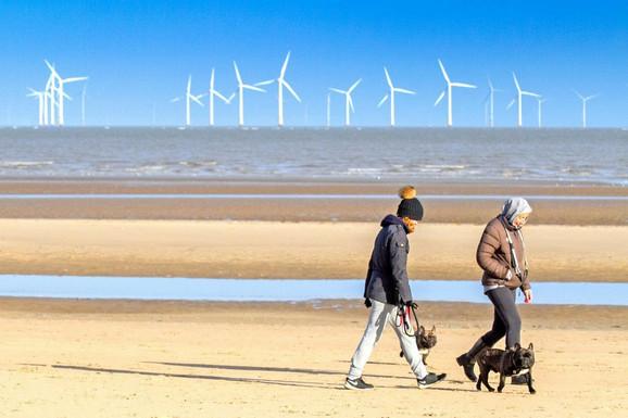 Vetropark kod severozapadne obale Velike Britanije