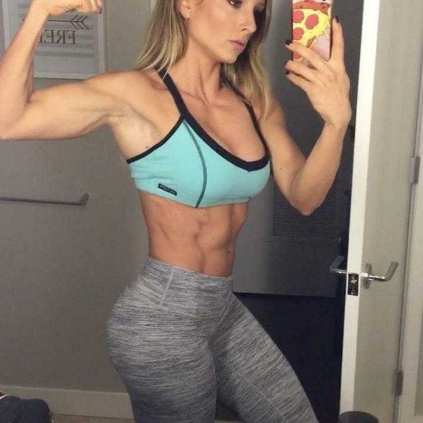 Niesamowite ciało amerykańskiej trenerki