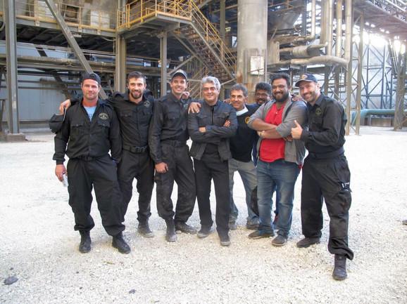 Filmska ekipa u Boru