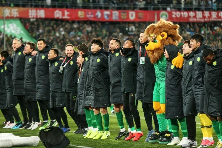 Beijing Guoan came second in the Chinese league last season and will play in the Asian Champions League