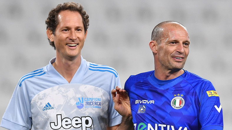Massimiliano Allegri (z prawej)