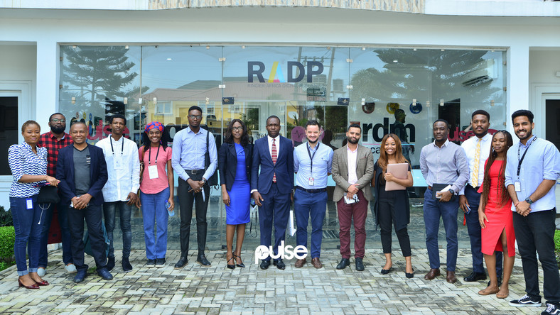 Top RADP executives with guests after the 5th edition of Ringier Africa Digital Publishing Digital Digest at Ringier HQ in Lagos.