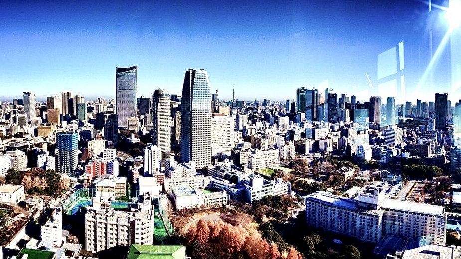 Wieża z Tokio - wygląda jak Eiffla w Paryżu