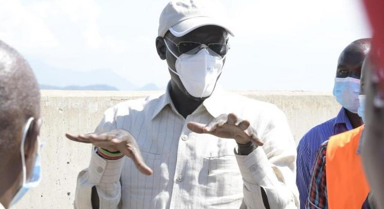Turkana Governor Josphat Nanok