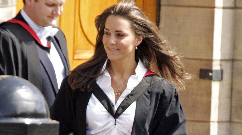 Kate Middleton jako studentka