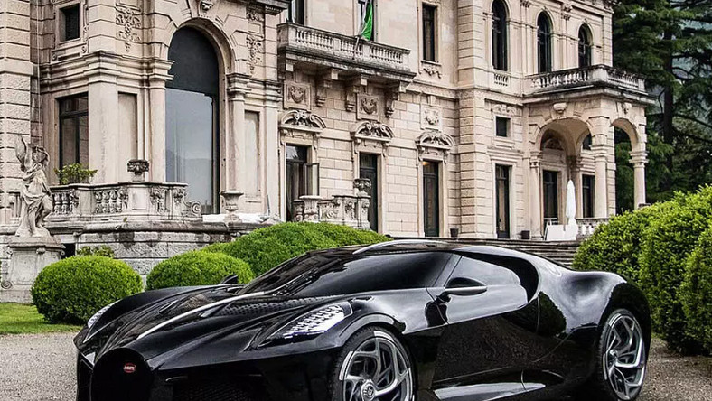 The La Voiture Noire is a one-of-a-kind car with a price tag of $18.7 million. The car's pretax price stands at €11 million, or $12,306,470, according to Bugatti, and the rest of the price comes from taxes.