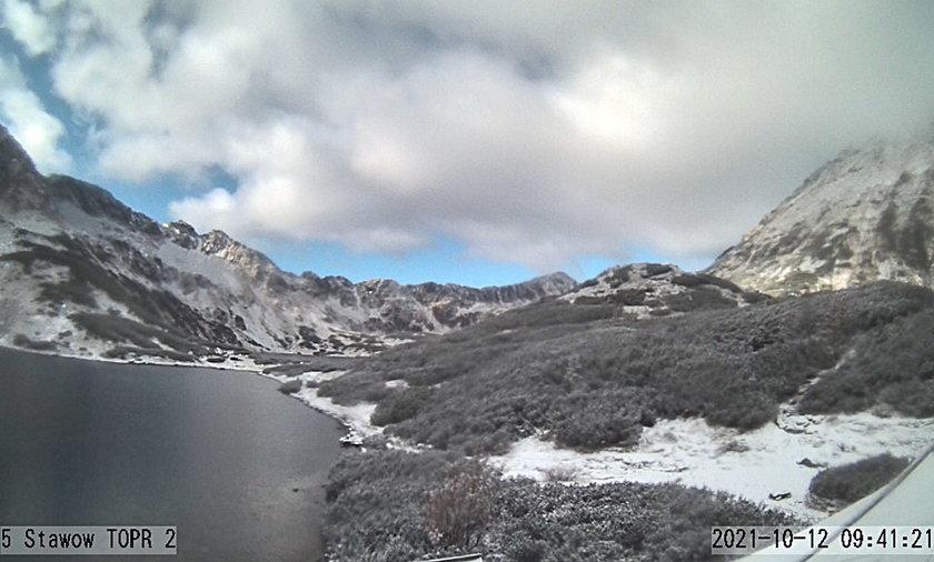W Tatrach spadł śnieg.