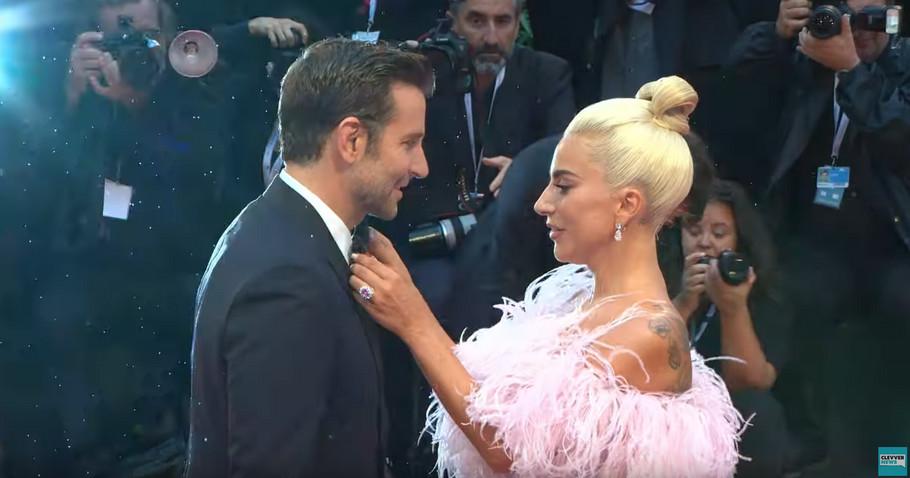 Bredli Kuper i Lejdi Gaga