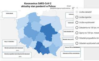Koronawirus w Polsce [AKTUALNA MAPA ZAKAŻEŃ]