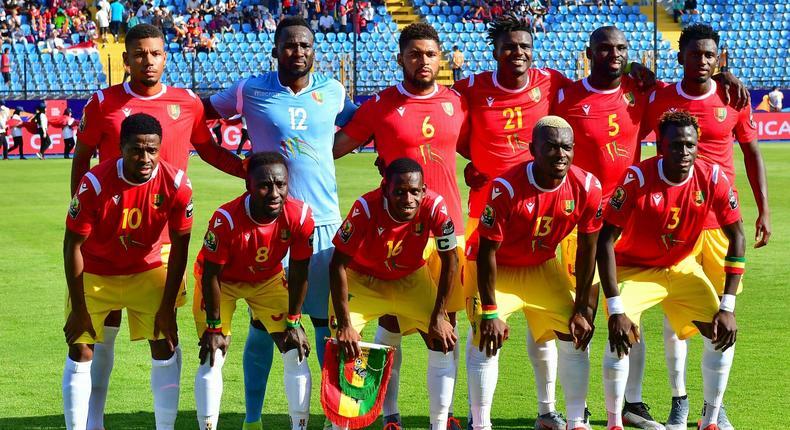 Equipe nationale de la Guinée