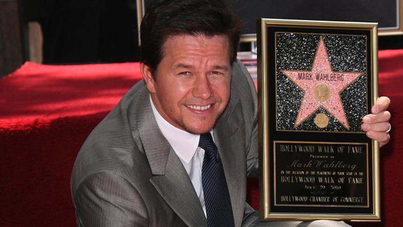 Mark Wahlberg ma swoją gwiazdę w Alei Sław