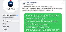 Koronawirus w Polsce. Policja ostrzega przed oszustami