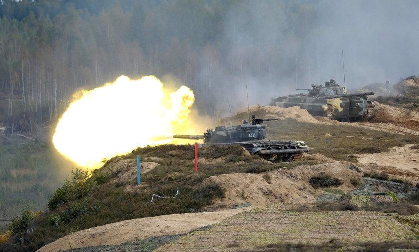 Manewry wojsk rosyjskich i białoruskich pod Grodnem