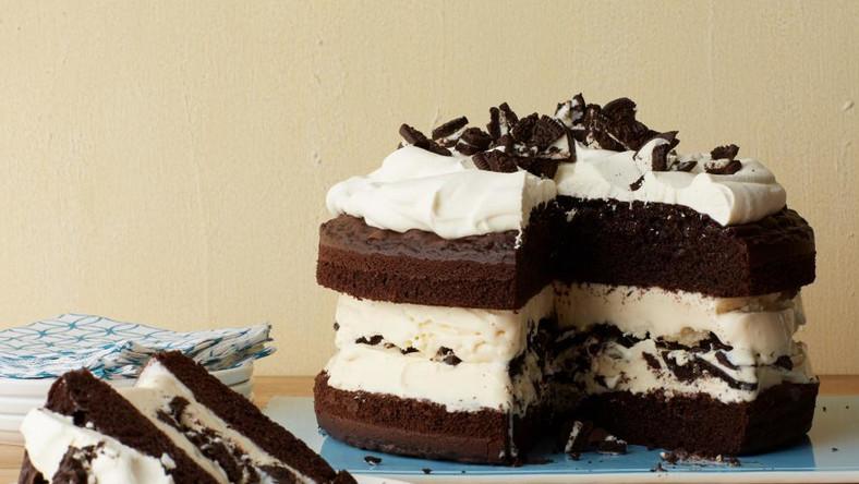 How to make chocolate ice cream cake at home