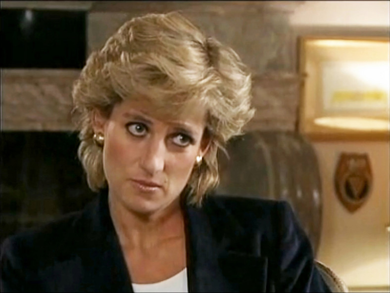 Princess Diana interviewed Martin Bashir on the BBC Panorama program in 1995.
