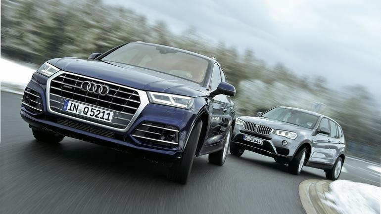 Pojedynek multi-kulti: Audi Q5 kontra BMW X3