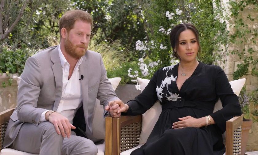 TVN24 pokaże wywiad Oprah Winfrey z Meghan Markle i księciem Harrym, a Monika Olejnik chwali się zdjęciem z Elżbietą II