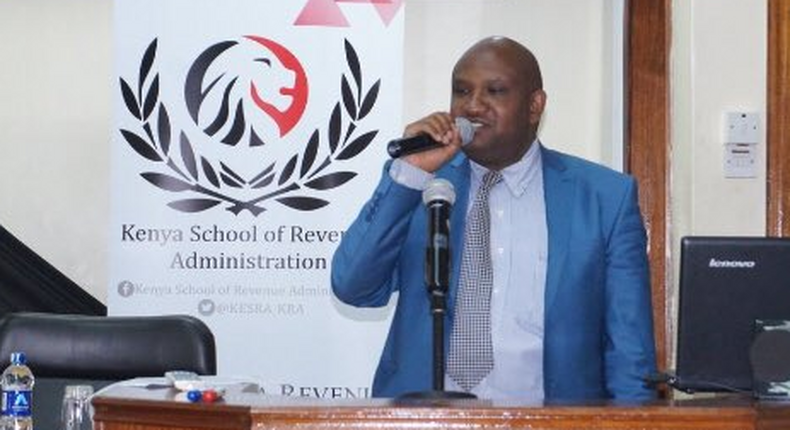 KRA Director General James Githii Mburu. Your salary will be affected - KRA warning to Kenyans who didn't file returns by June 30 deadline