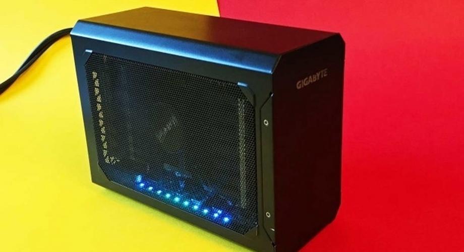 Gigabyte Gaming Box RX 580 im Test: eGPU für's Notebook