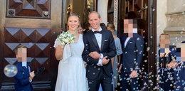 Mąż Julii Królikowskiej pokazał ich pierwsze wspólne zdjęcie po ślubie. Internauci zachwyceni