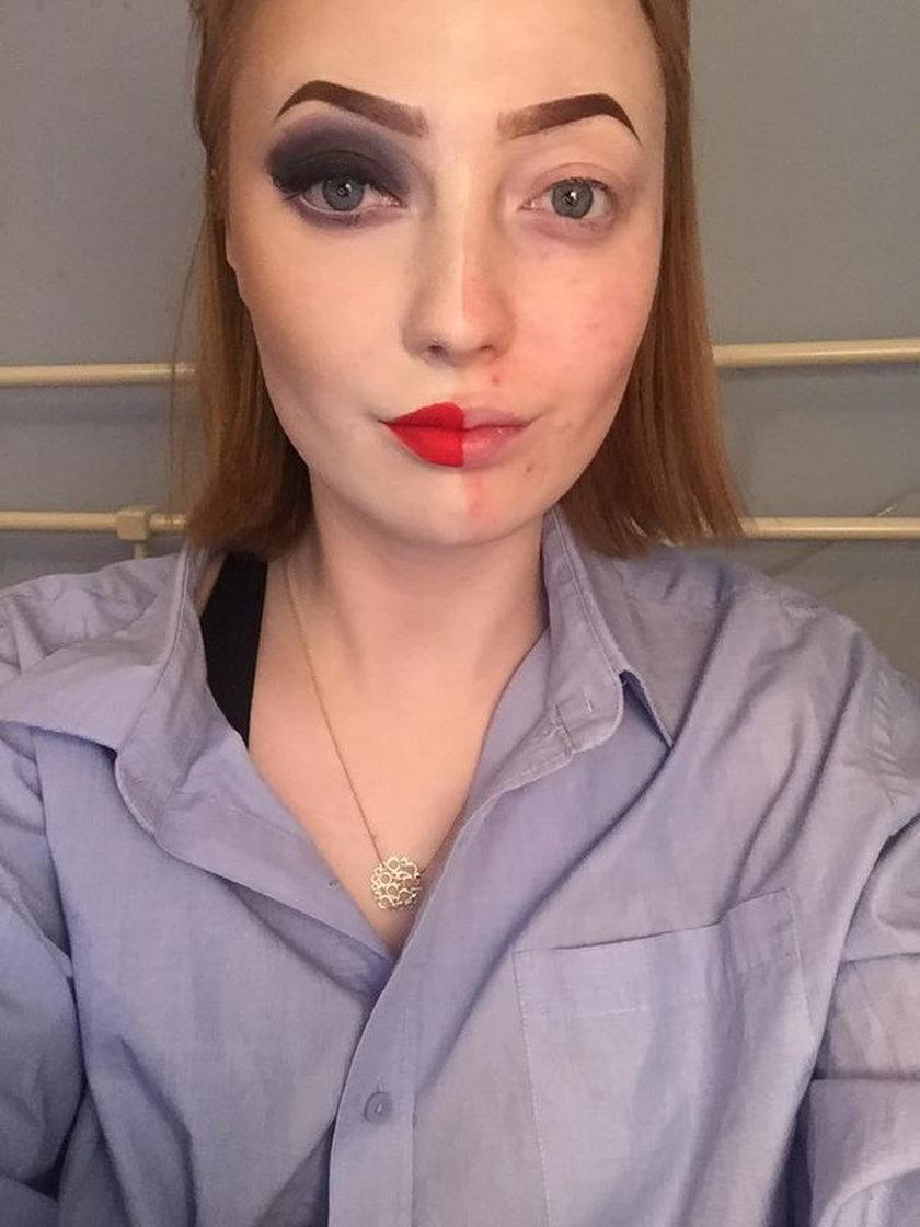 Maisie Beech pokazała się bez makijażu