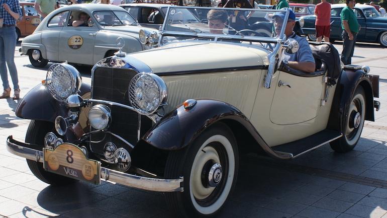 Mercedesy na Autonostalgii 2015