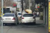 Požar u Borči, zapaljena dva automobila