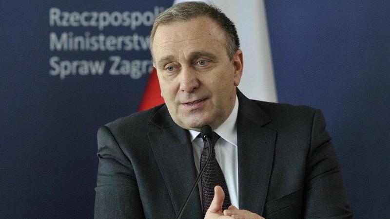 Grzegorz Schetyna: Polska żąda wycofania gry