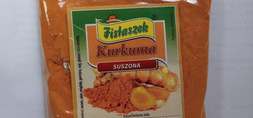 Salmonella w kurkumie. Nie jedz tego produktu!
