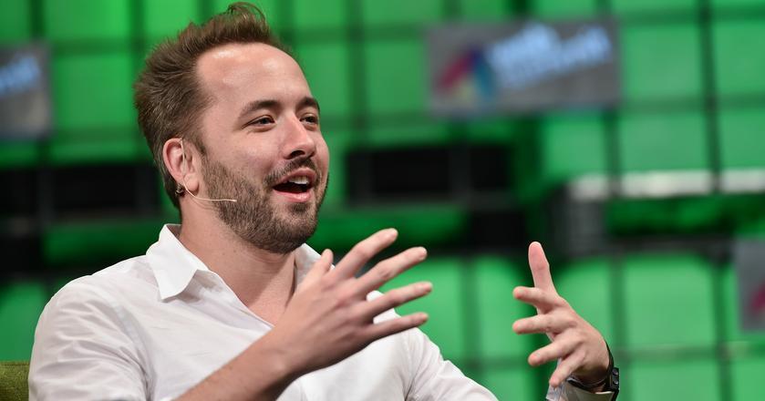 Andrew Houston, CEO Dropboksa, który zadebiutował na giełdzie 23 marca