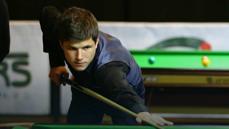 Mateusz Baranowski (fot. Polish Snooker by Morska&Ochman)