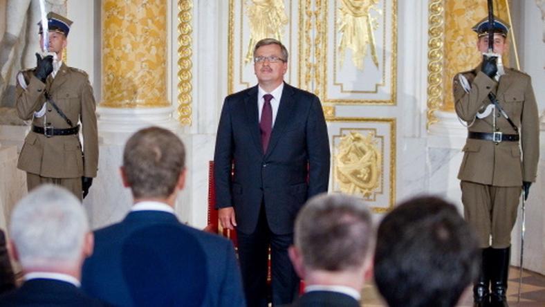 Bronisław Komorowski, fot. AFP