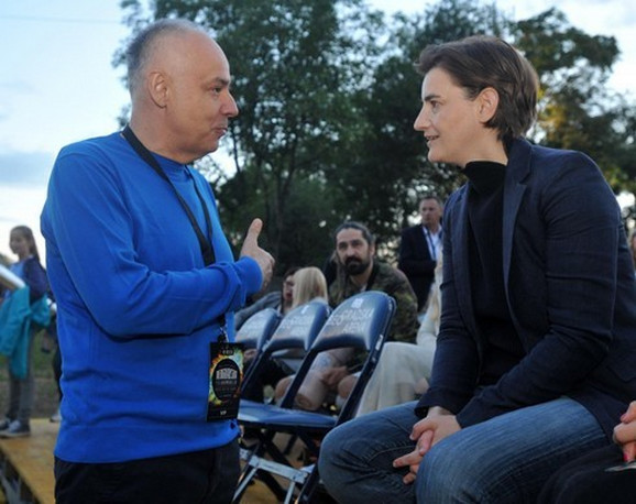 Dr Zoran Radojičić i Ana Brnabić